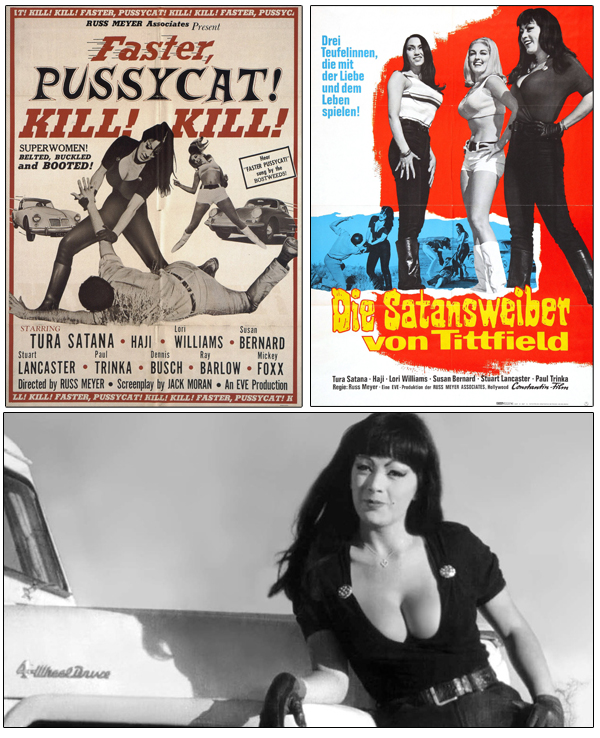 American and German movie posters, Tura