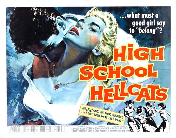 High School Hellcats - 1958