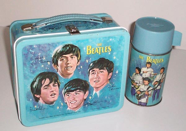 Image result for beatles lunch box