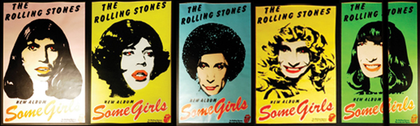 Rolling-Stones-Some-Girls-posters | Painted Wolf