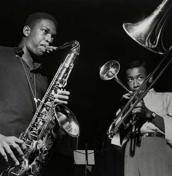 Coltrane and Lee Morgan