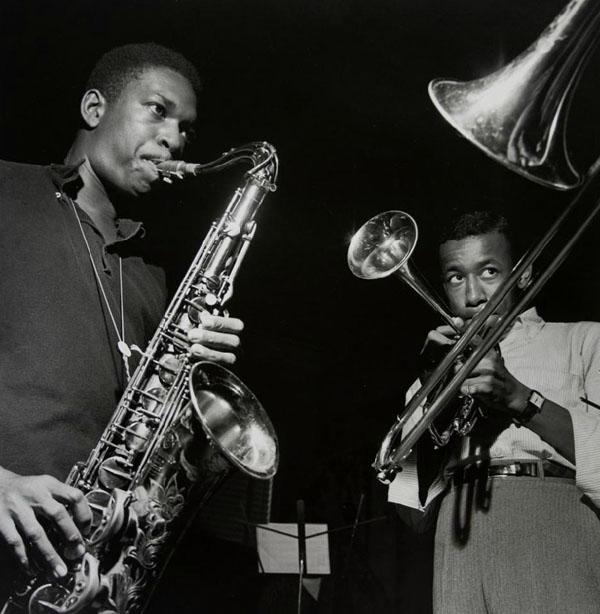 Coltrane and Lee Morgan