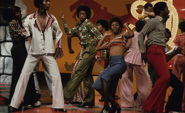 The Soul Train Dancers