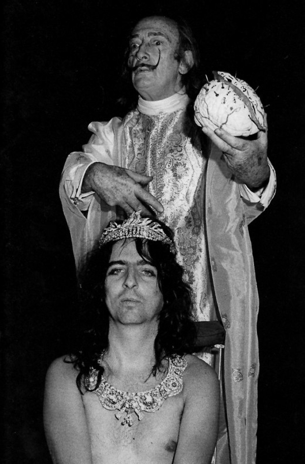 Alice Cooper & Salvatore Dali