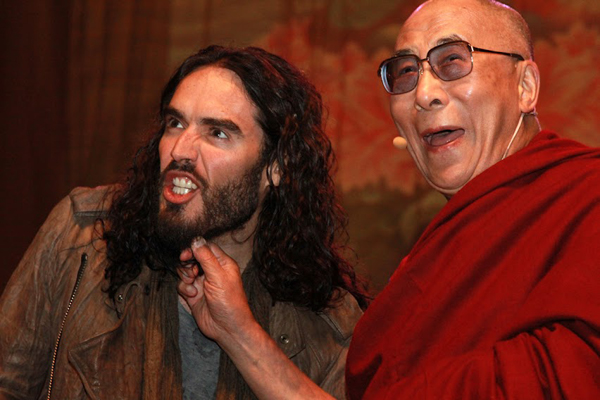 Russell Brand & The Dali Lama