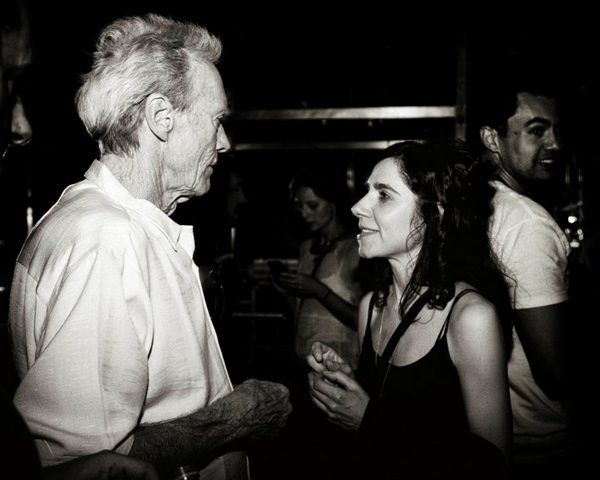 Clint Eastwood and PJ Harvey