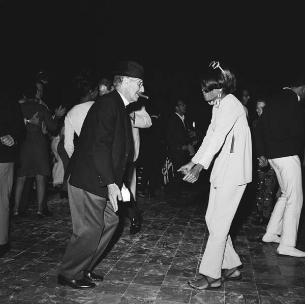 Groucho Marx & Diana Ross