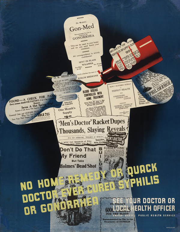 quackdoctor us public health service poster