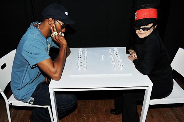 RZA and Yoko Ono