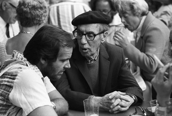 Jack Nicholson and Groucho Marx