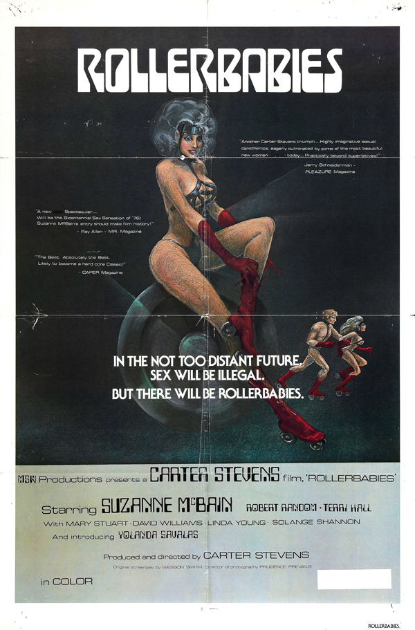 Rollerbabies 1976 - Rollerball (which seems like a better porno name)