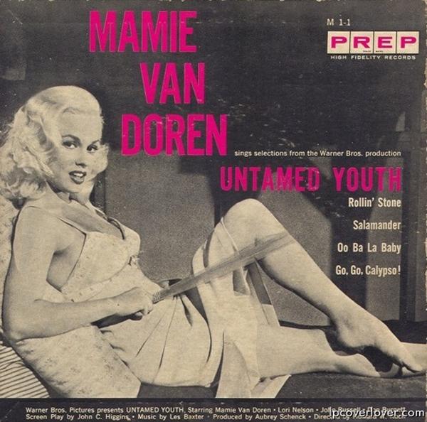"""Mamie Van Doren - """"Untamed Youth"""""""