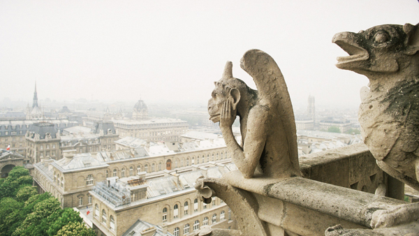 Notre-Dame Cathedral in Paris: Gargoyles