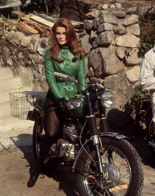 Anne Margaret loved motorcycles