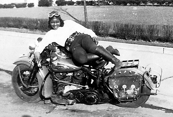 The Fabulous Bessie Stringfield - Rode solo coast to coast through the deep south in the 1940's