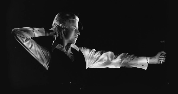 david bowie as the thin white duke the archer station to station tour by john robert rowlands 1976