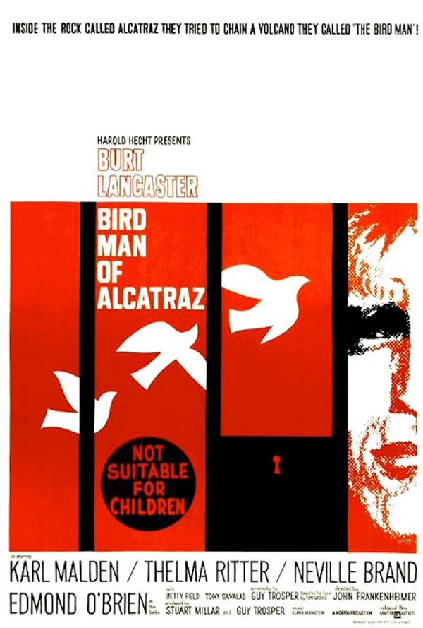 1962 Birdman of Alcatraz