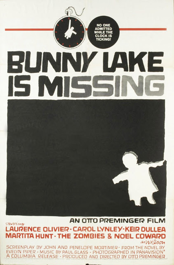 1965 Bunny Lake is Missing