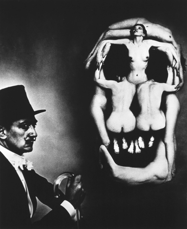 In Voluptas Mors - Phillippe Halsmann And Salvador Dali 1951