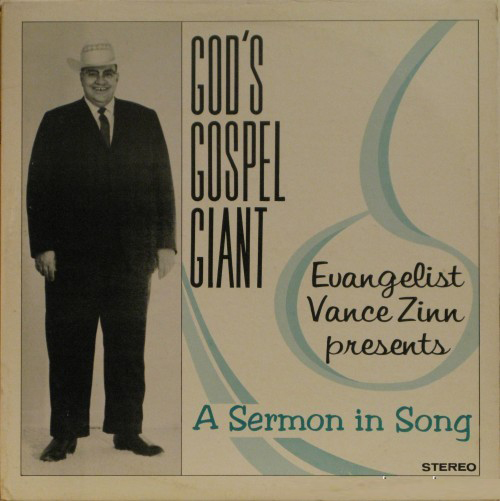 God's Gospel Giant Vance Zinn