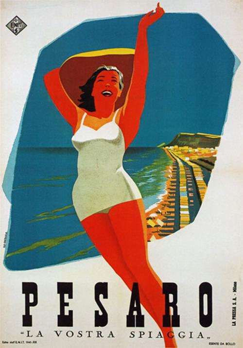 Estremamente Design: Vintage Travel Posters – Italy | eleven-nineteen VF44