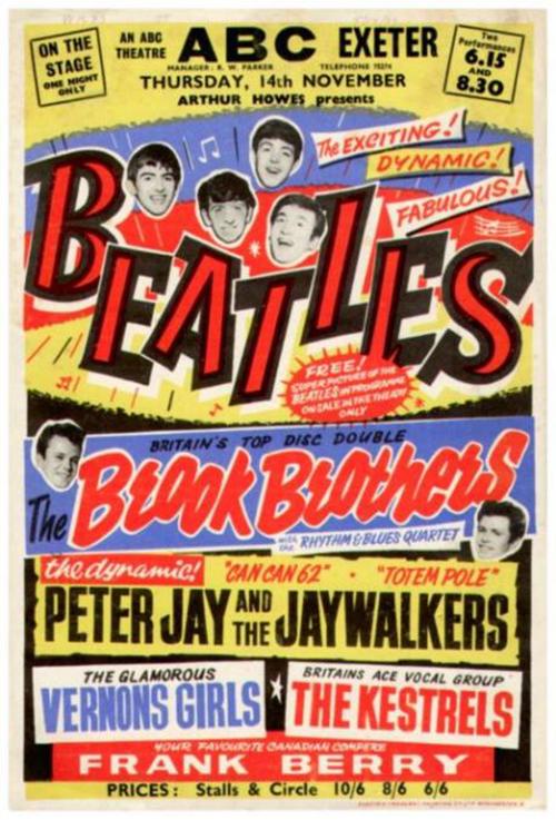 Beatles Exeter gig
