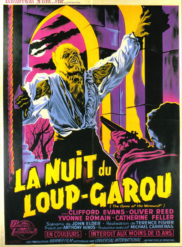 The Curse of the Werewolf - French