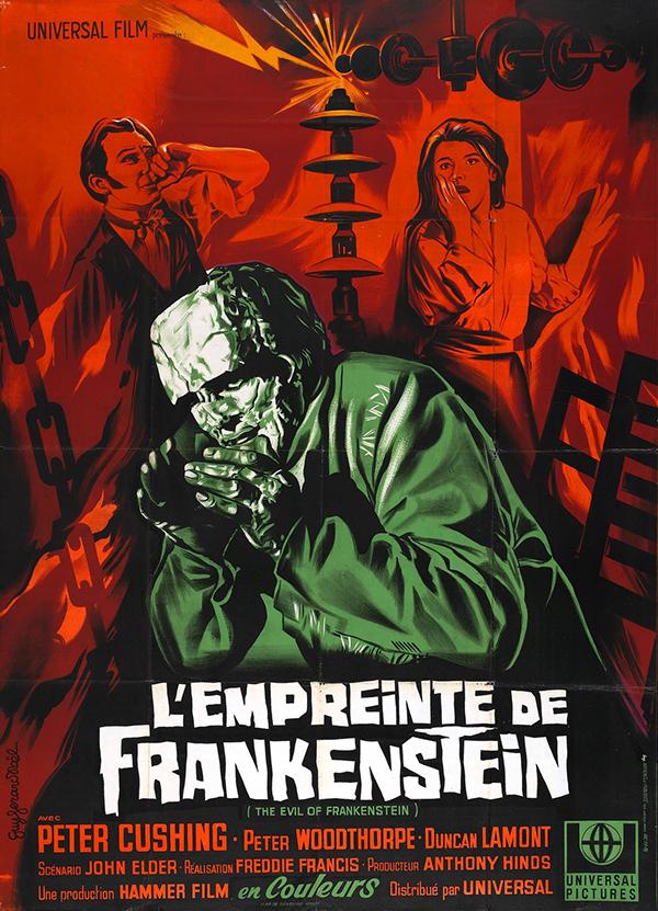 Evil of Frankenstein - French