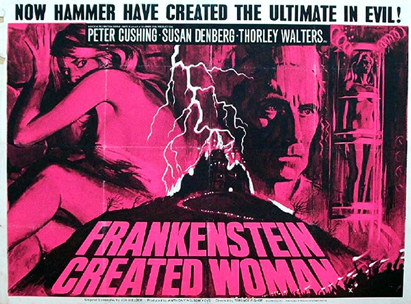 Frankenstein Created Woman - British