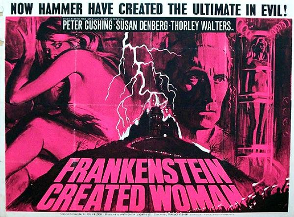 Frankenstein Created Woman - British