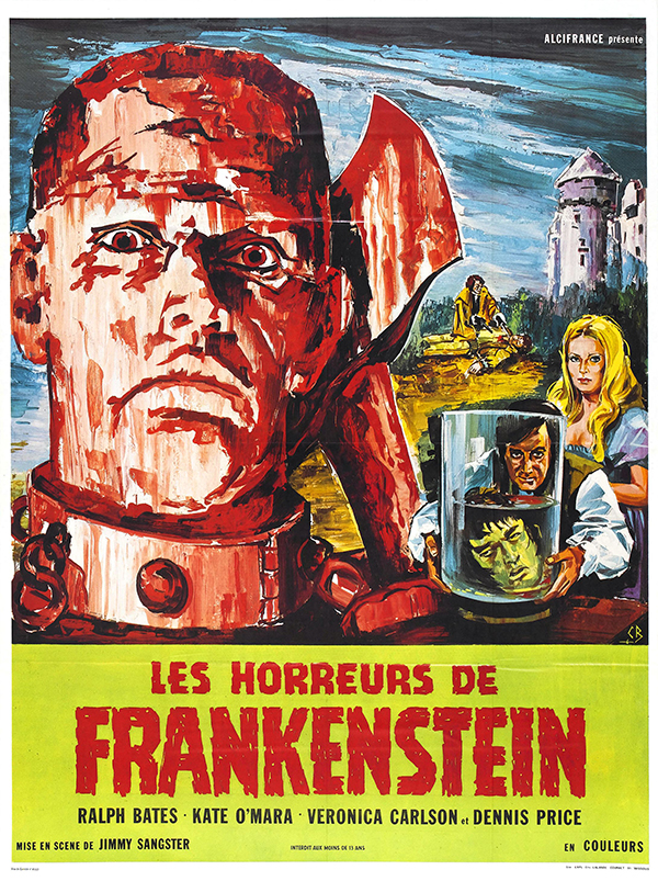 The Horror of Frankenstein - French