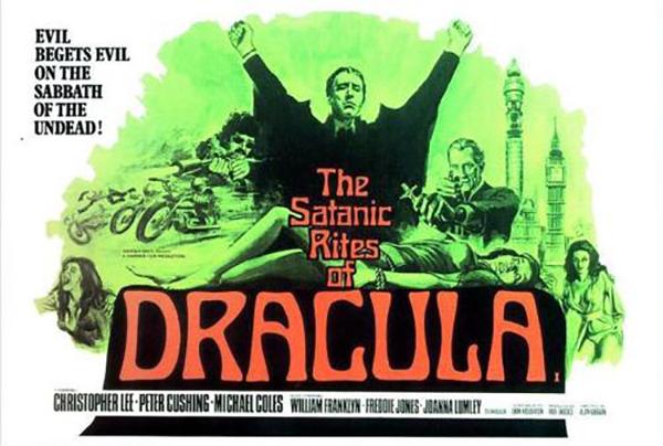 The Satanic Rites of Dracula - British