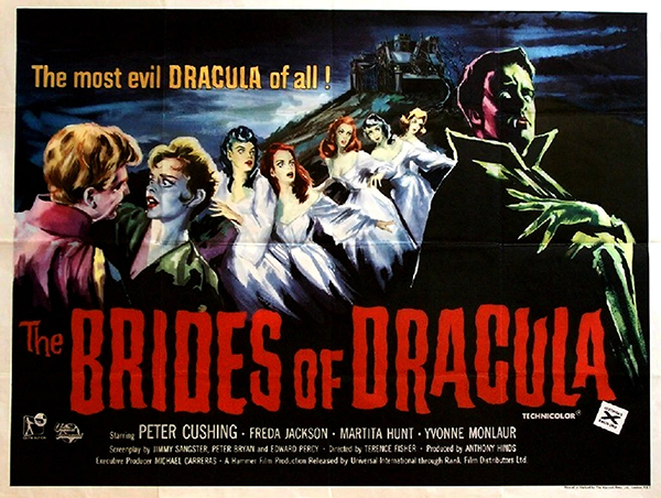 The Brides of Dracula - British