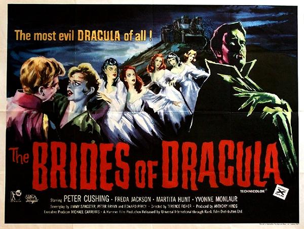 The Brides of Dracula - British