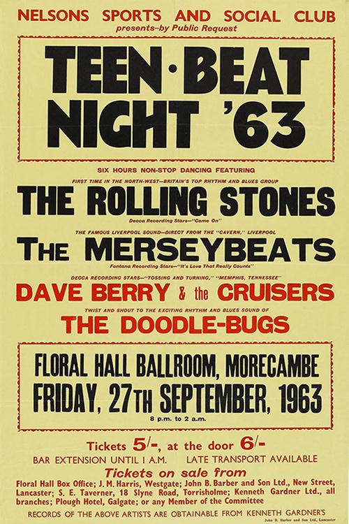The Rolling Stones Teen Beat '63 (1963)