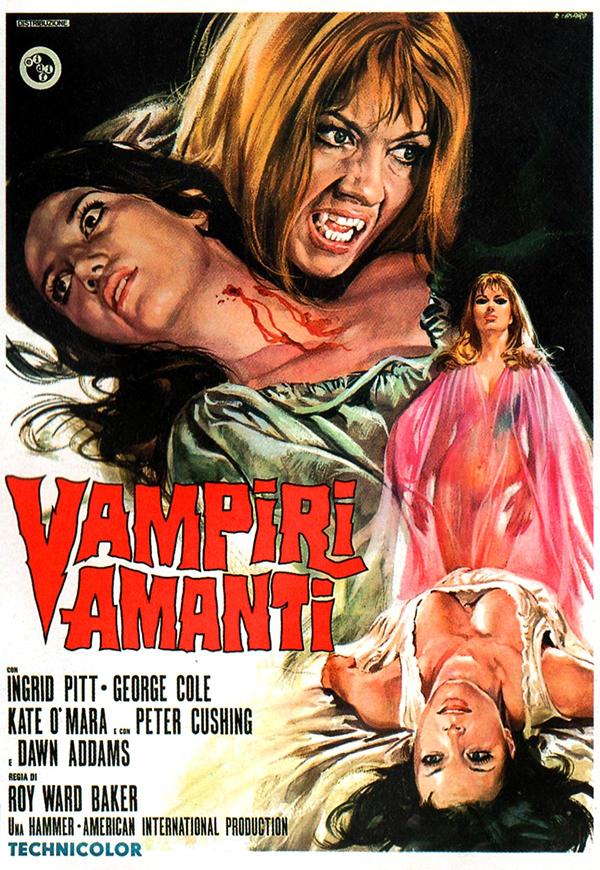 Vampire Lovers - Italian