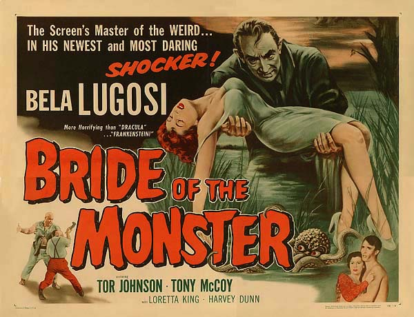 Bride of the Monster - 1955