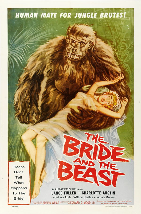 Bride and the Beast - 1958