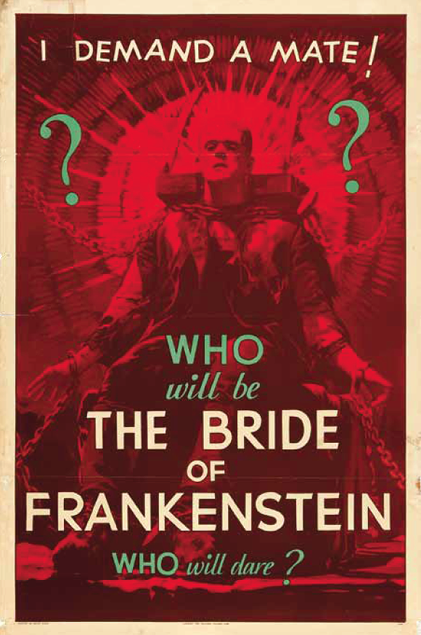 Bride - teaser poster 1935