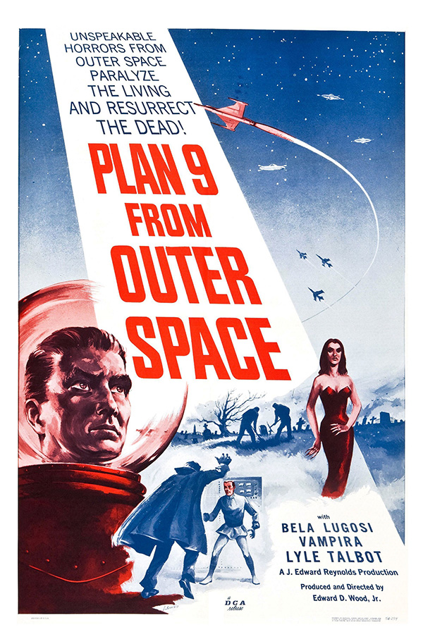 Plan Nine From Outer Space - 1956