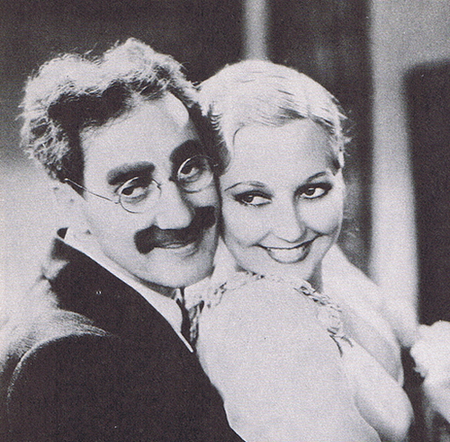 With Groucho Marx