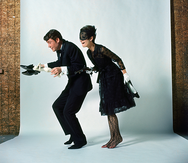 With Audrey Hepburn in How to Steal a Million - promo