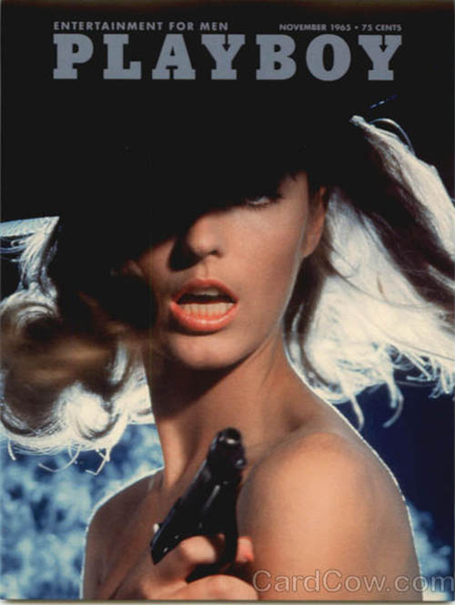 Playboy November 1965 Cover Pat Russo