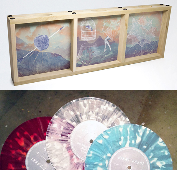 "Kishi Bashi - Limited 7"" single set (not a CD but beautiful)"