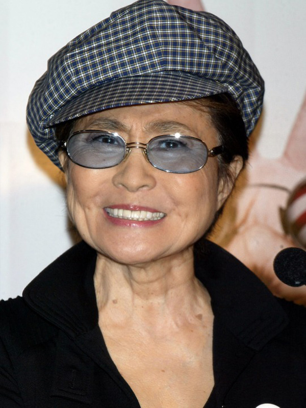 YOKO ONO LENNON PRESS CONFERENCE