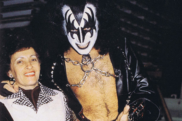 Gene Simmons and Flóra Klein