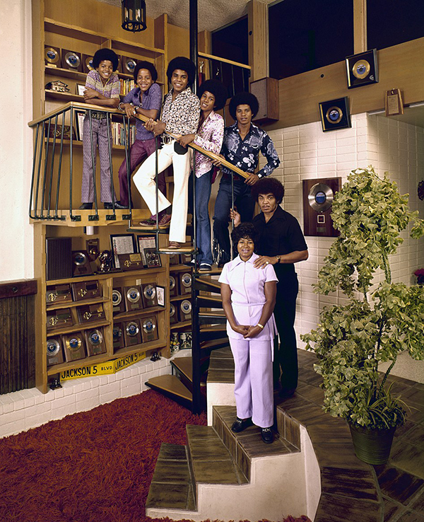 The Jacksons - Michael, Katherine and Joseph