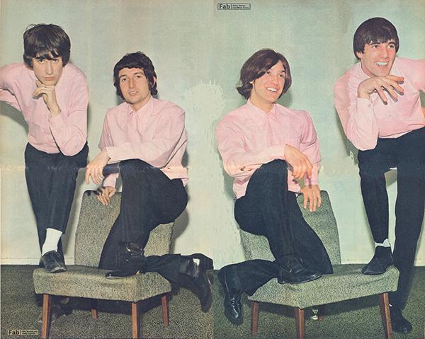 Kinks Giant Poster SB 58745