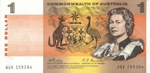 Australia, $1.00, Age 38