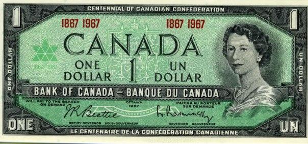 Canada, $1.00 Age 25